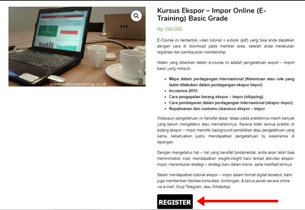 Kursus Ekspor Impor Online